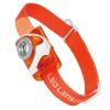 LED Lenser fejlámpa SEO3 narancs