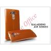 Kalaideng LG G4 H815 szilikon hátlap üveg képernyővédó fóliával - Kalaideng Air Series - gold