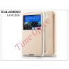 Kalaideng Sony Xperia E4 (E2104/E2105) flipes tok - Kalaideng Sun Series View Cover - golden
