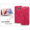 Kalaideng Samsung SM-G920 Galaxy S6 flipes tok - Kalaideng Oscar 2 Series - pink
