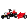 Rolly Kid Steyr 6160 CVT pedálos traktor utánfutóval