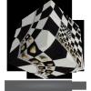 V-Cube V-CubeTM 3x3 versenykocka, Sakktábla illúzió