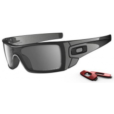 Oakley Batwolf Granite W/ Blk Iridium Polarized
