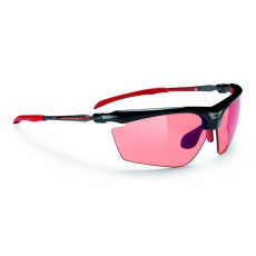 Rudy Project Magster Black Gloss - ImpactX™ Photochromic Multilaser Racing Red lencsével
