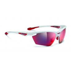 Rudy Project Stratofly White Gloss - Multilaser Red lencsével