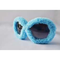Plüss Rugy Bugy party napszemüveg - világoskék