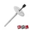 KBL-Hungária Fémszeges tárcsás dübel 10x200 mm