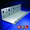 KBL-Hungária Hõszigetelõ alumínium lábazati indítóprofil 0,6 mm x 2,5 m x 60 mm
