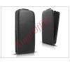 Haffner Slim Flexi Flip bőrtok - Microsoft Lumia 430 - fekete tablet tok