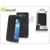Samsung Samsung SM-G920 Galaxy S6 flipes tok - Muvit Crystal Folio Croco - black