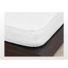 Jersey gumis lepedő Fehér 200x200 cm