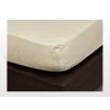 Jersey gumis lepedő Vanilia 200x200 cm