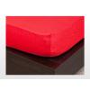 Jersey gumis lepedő Piros 160x200 cm