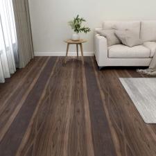 55 db sötétbarna öntapadó PVC padlólap 5,11 m² építőanyag