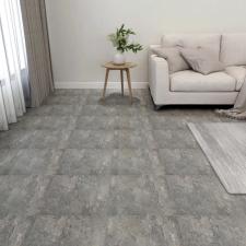 55 db szürke öntapadó PVC padlólap 5,11 m² építőanyag
