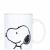 PEANUTS bögre Snoopy 9.x7.8cm
