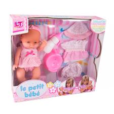 Loko Pisilő baba ruhával és bilivel baba