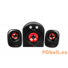 Mars Gaming MS2 Speaker 2.1 Black