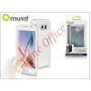 Muvit Samsung SM-G920 Galaxy S6 flipes tok - Muvit Window Folio - white