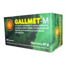 Gallmet -M kapszula 90 db táplálékkiegészítő