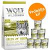 Wolf of Wilderness próbacsomag: száraz- & nedveseledel - II. variáns