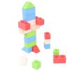 Bigjigs összepattintós kocka - alapszínek - kezdő csomag