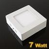 FALON kívüli LED panel (120 mm) 7 Watt (négyzet) term. fény