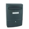 NEMMEGADOTT postaláda MECSEK 38cm műanyag szürke