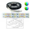 Elmark Szalag LED 5050 beltéri 2x60 db/m - RGB - 5m-es tekercsben ELMARK (99LED690)