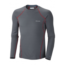 Columbia Men's Midweight Long Sleeve Top D (AM6944l_053-Graphite) Férfi sport aláöltözõ