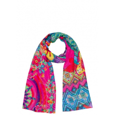 Desigual Foulard Rectangle Cebefa Sál D (52w53c6M_3115 ROYAL LILAC)