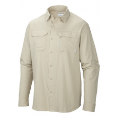 Columbia Voyager Long Sleeve Shirt D (AM9158m_160-Fossil) Férfi ing