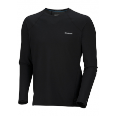 Columbia Men's Midweight Long Sleeve Top D (AM6944l_010-Black) Férfi sport aláöltözõ