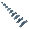 Lincos Centírozó súly teherautókhoz, felüthető, 300g, acél felnikhez (TT-30020)
