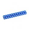 E22 , 24-slot kábelrendezõ kék 4 mm kábelhez
