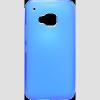CELLECT HTC M9 vékony szilikon hátlap kék
