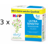 Hipp Babysanft Ultra Sensitive, 3x (4x52) db