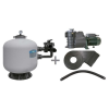 Bomba szivattyú Bomba S650 14000L 230V medence szûrõ (homokszûrõs vízforgató)