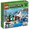 LEGO Minecraft-Búvóhely a hóban 21120