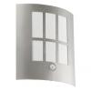 EGLO 94213 - LED-es kültéri lámpa érzékelővel LED CITY 1xLED/3,7W/230V