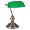TOP LIGHT OFFICE BANK asztali lámpa, zelená 1xE27/60W