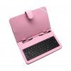 Art Etui + keyboard micro USB for TABLET 7' pink AB-101E