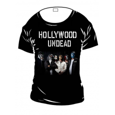 Hollywood Undead női rock póló
