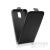 utángyártott Flip tok szilikon belsővel, Huawei P8, fekete