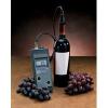 Oldott oxigén-mérőműszer a bor vizsgálatához
