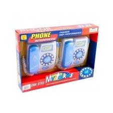 Talkies játéktelefon Kék elektronikus játék