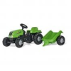 Rolly Kid-X pedálos traktor utánfutóval II