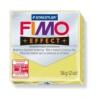Gyurma, 56 g, égethető, FIMO Effect, citrin