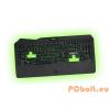 Keep Out F89PRO Gamer billentyűzet Black/Green ENG Multimédia,Black/Green,USB,ENG,Billentyűzet megvilágítás