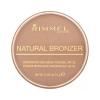 Rimmel London Natural Bronzer Waterproof Bronzing Powder SPF15 Női dekoratív kozmetikum 026 Sun Kissed Smink 14g